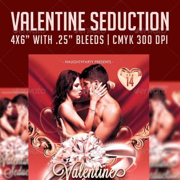 Valentine Seduction V2 Flyer Template