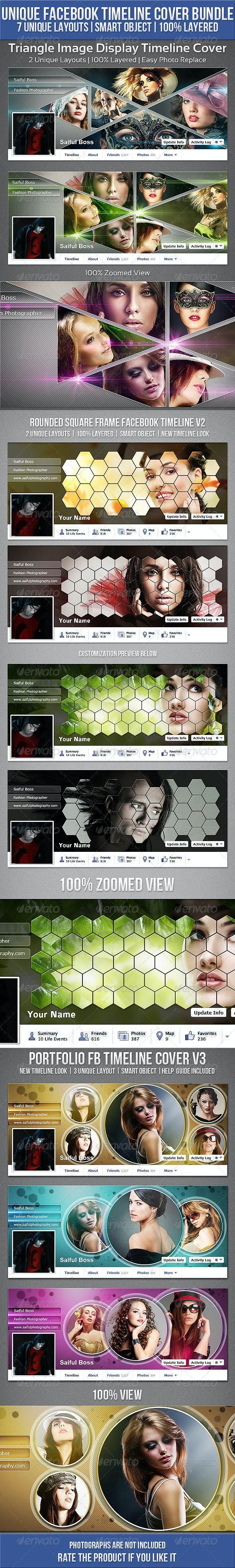 Unique Facebook Timeline Cover Bundle - Facebook Timeline Covers Social Media