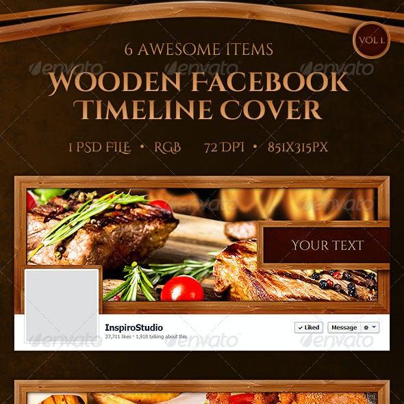 Wooden Facebook Timeline Cover