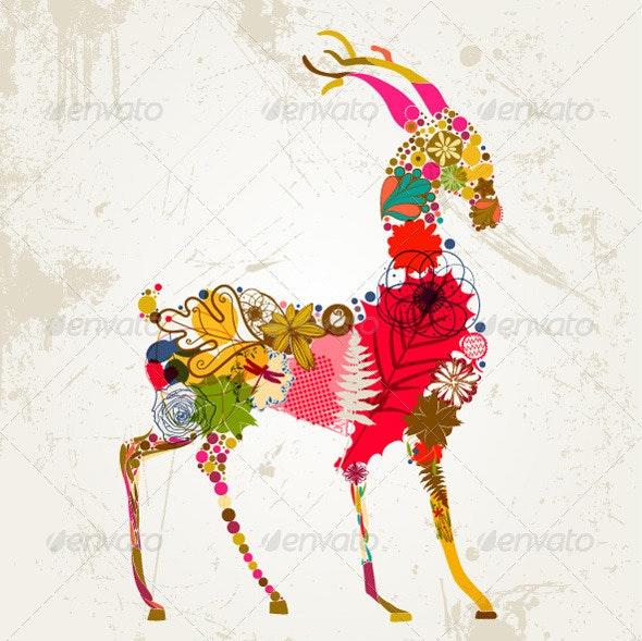 Deer - Animals Characters