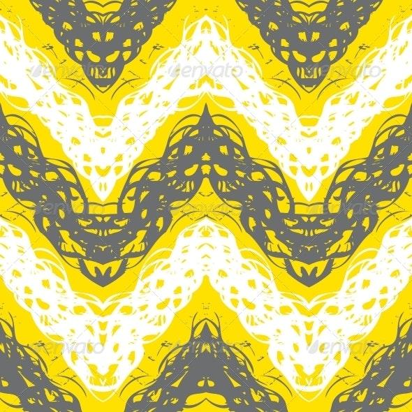 ZigZag Seamless Pattern - Patterns Decorative