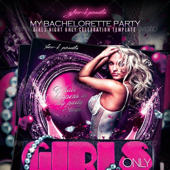My Bachelorette/ Girls Night Party Invitation