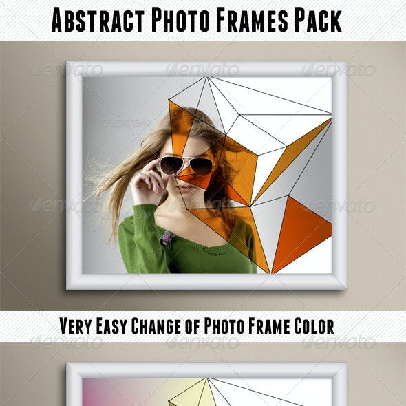 Abstract Photo Frames Pack
