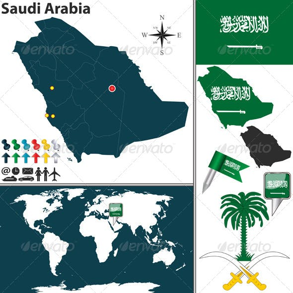 Saudi Arabia Graphics, Designs & Templates from GraphicRiver