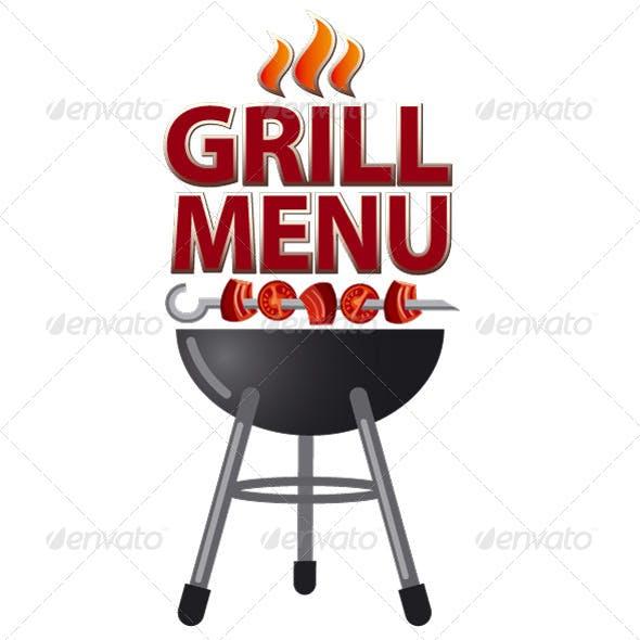 Grill Menu Cover