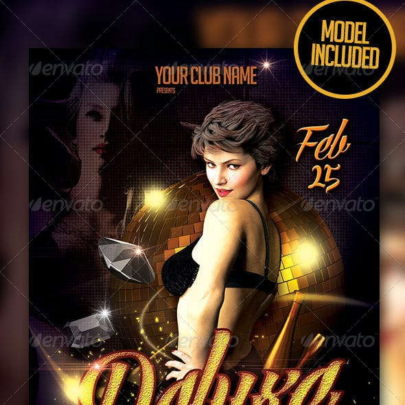 Deluxe Party Flyer Template