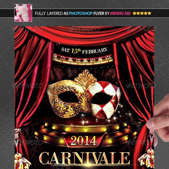 Carnival 2014 Poster/Flyer