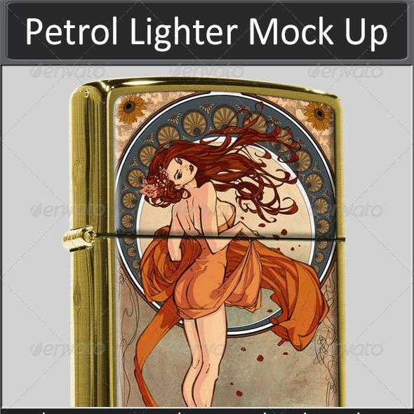 Petrol Lighter Mock Up