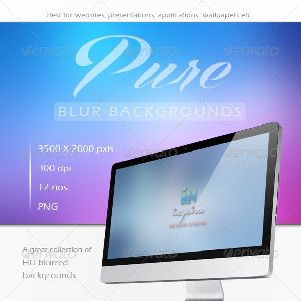 Pure HD Blur Backgrounds