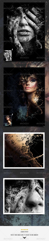 Liquid Image Frame - Artistic Photo Templates