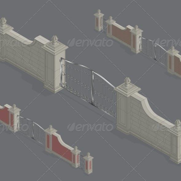 Isometric Gate Portal