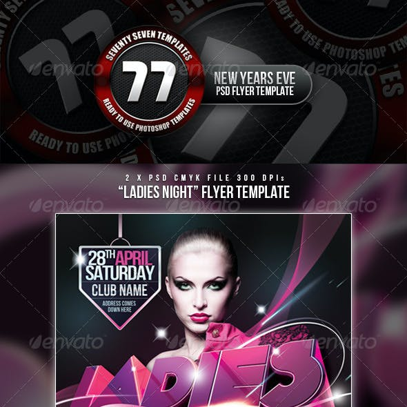 Ladies Night Club / Event Flyer