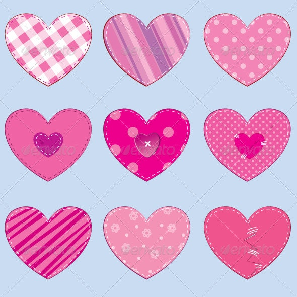 Hearts - Decorative Symbols Decorative