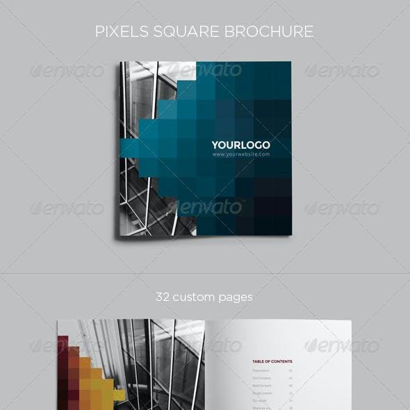 Pixels Square Brochure