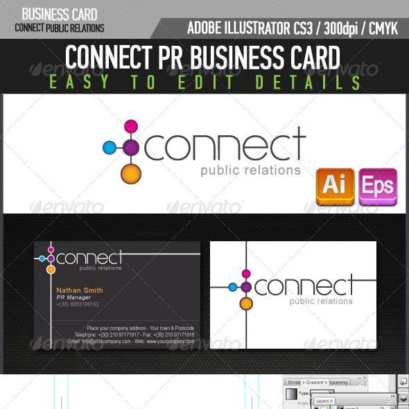 Connect PR Business Card