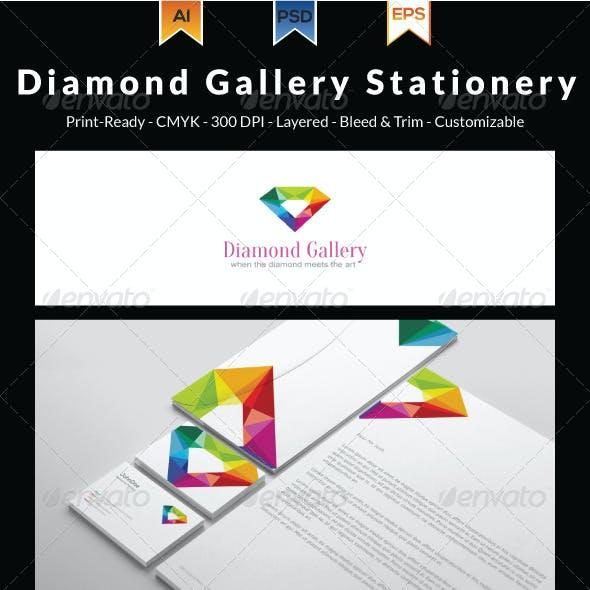 Diamond Gallery Stationery