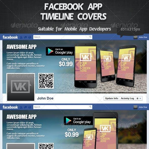 Facebook App Timeline Cover 1