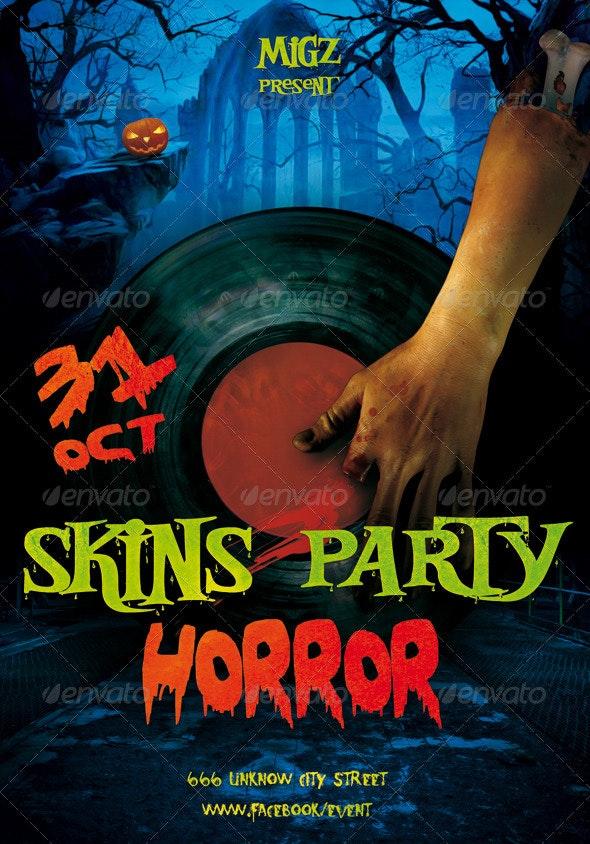 Halloween Flyer Migz - Clubs & Parties Events