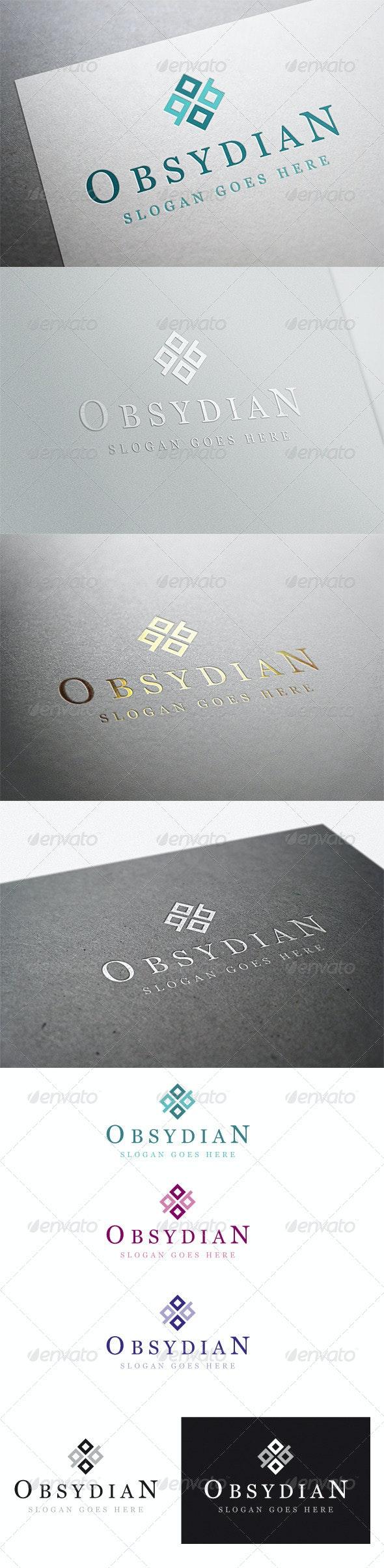 Obsydian Logo - Vector Abstract