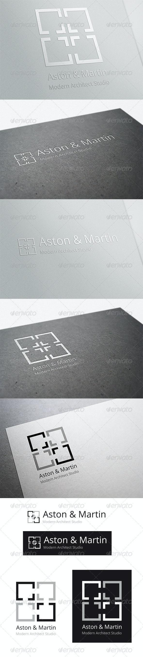 Modern Architect Studio - Vector Abstract