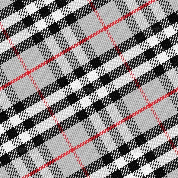 Vector Pattern Scottish Tartan