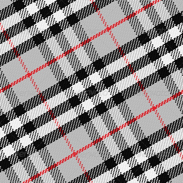 Vector Pattern Scottish Tartan - Patterns Decorative