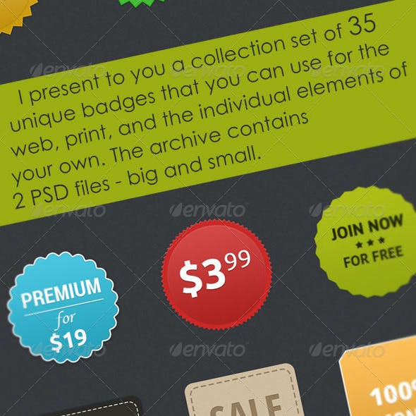 Purchase Web Elements from GraphicRiver
