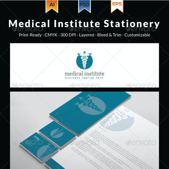 Medical Institute Stationery