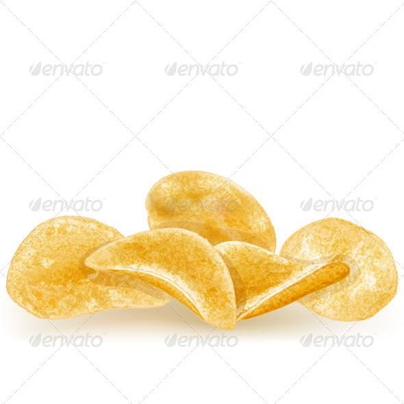 Heap of Potato Chips