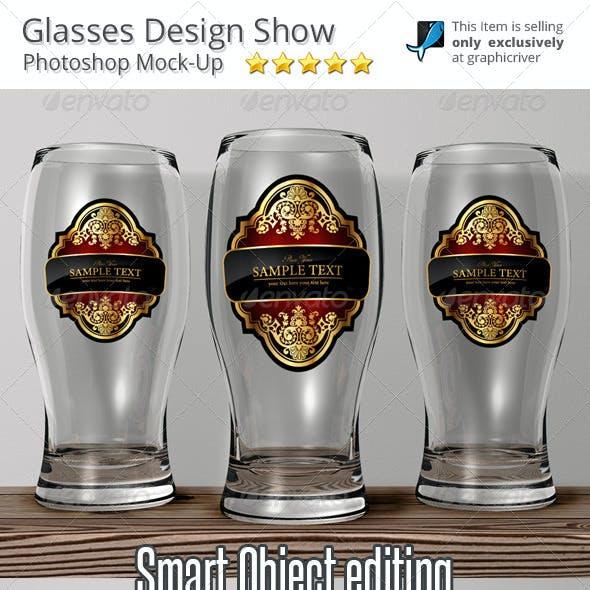 Glasses Mock-Up Presentation