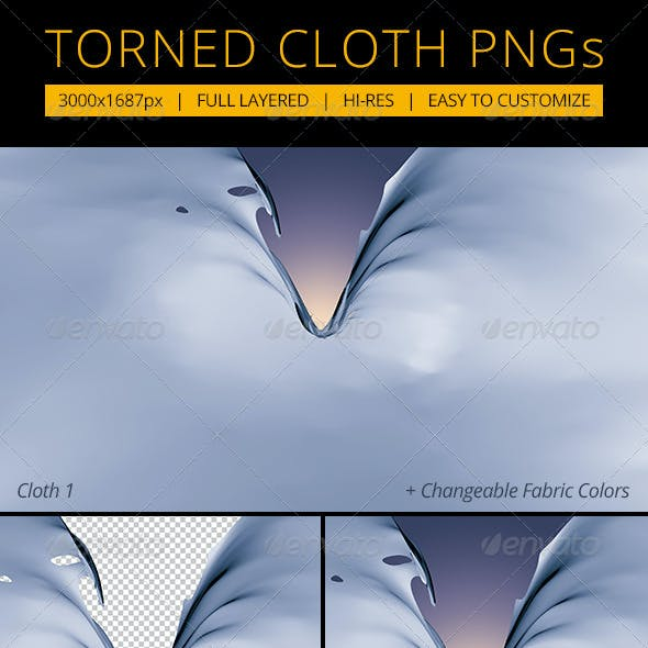 Torned Cloth PNGs