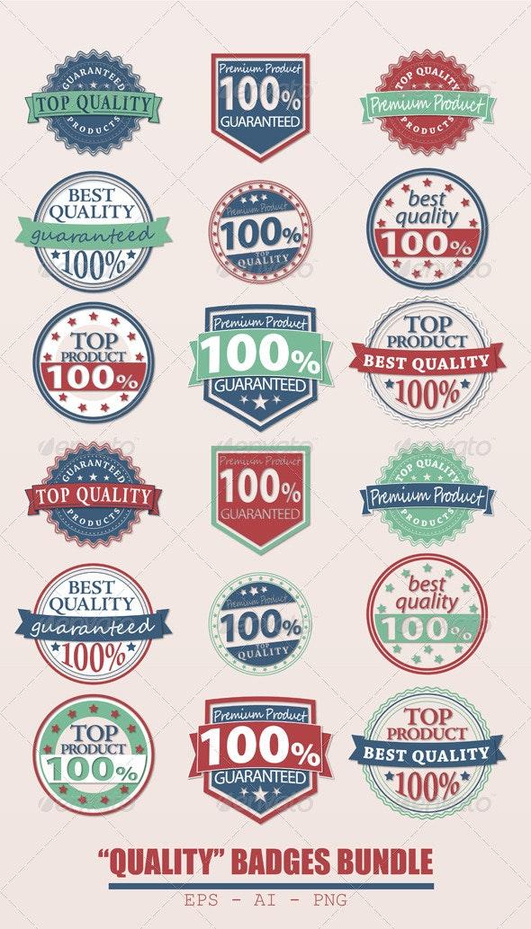 Badges Bundle - Commercial / Shopping Conceptual