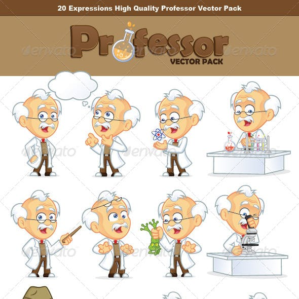 Professor Vector Pack