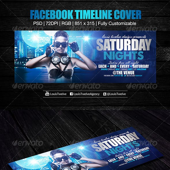Saturday Nights Facebook Cover