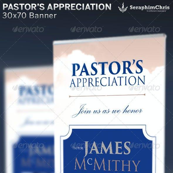 Pastor's Appreciation: Banner Template
