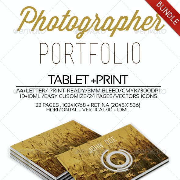Photographer Portfolio Bundle
