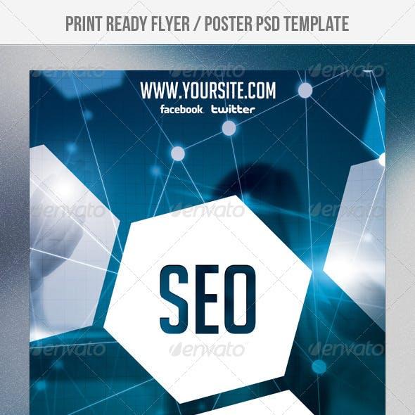SEO Network Flyer