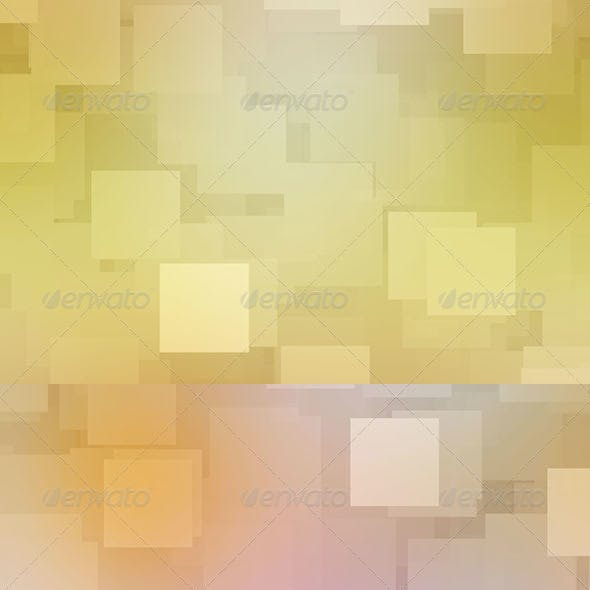 12 Abstract Square Backgrounds