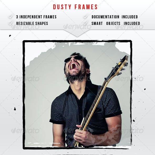Dusty Image Frames