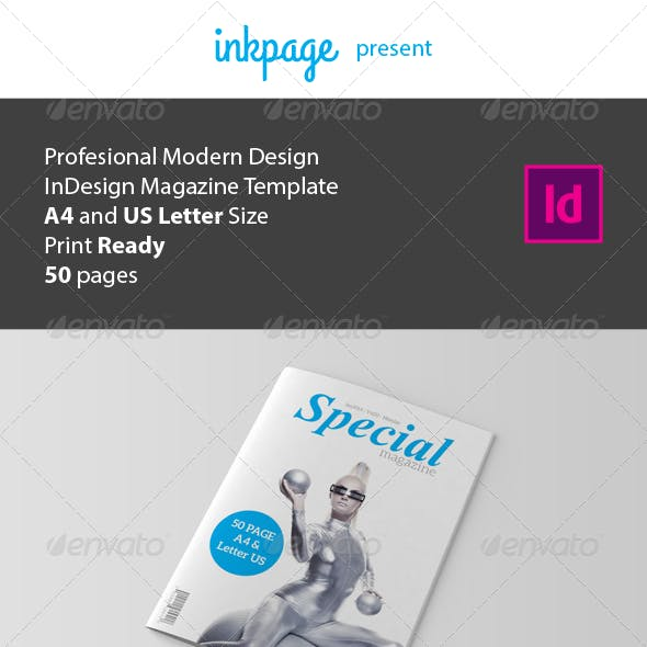 InDesign Magazine Template V3