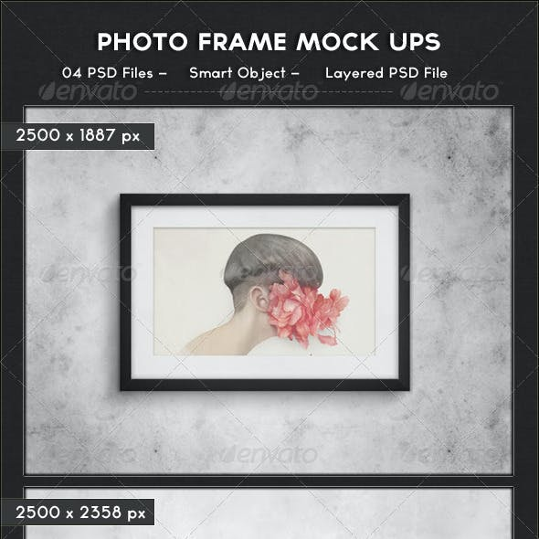Photo Frame Mock Ups