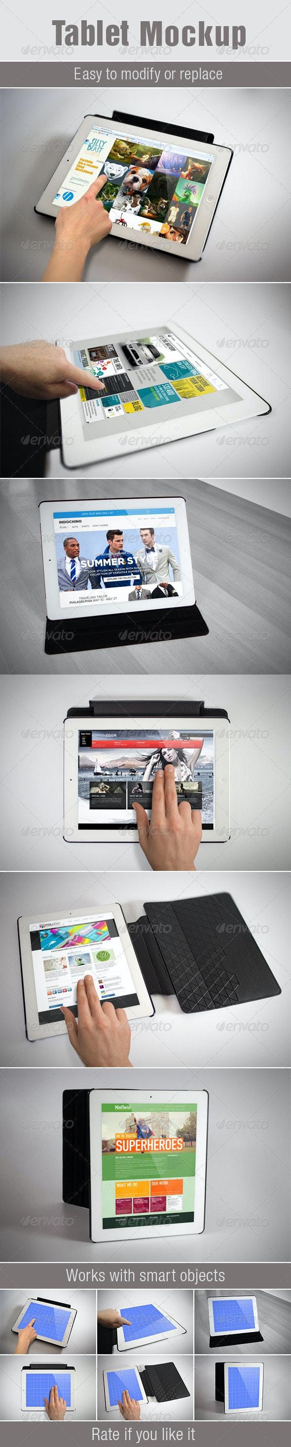Tablet Mockup - Product Mock-Ups Graphics