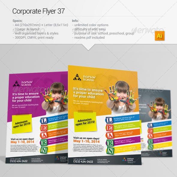 Corporate Flyer 37