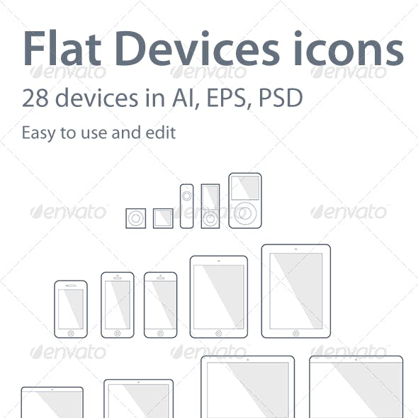 28 Devices Icons