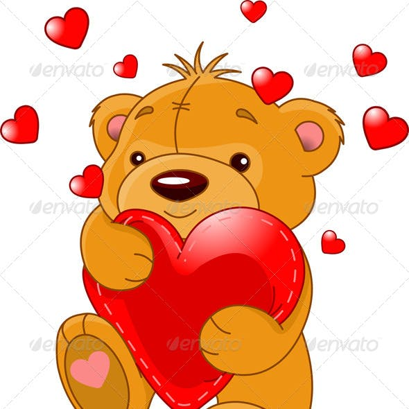 Bear with Heart