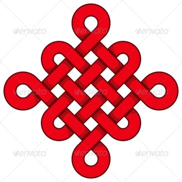 Chinese Knot - Decorative Symbols Decorative