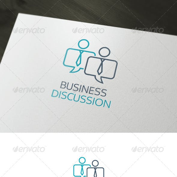 Business Discussion Logo
