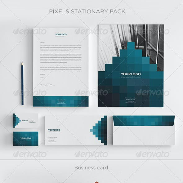 Pixels Stationary Pack