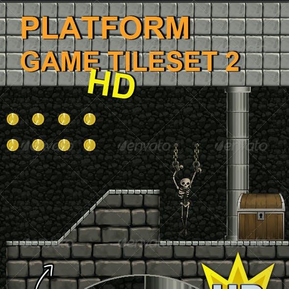 Platform Game Tileset 2 HD