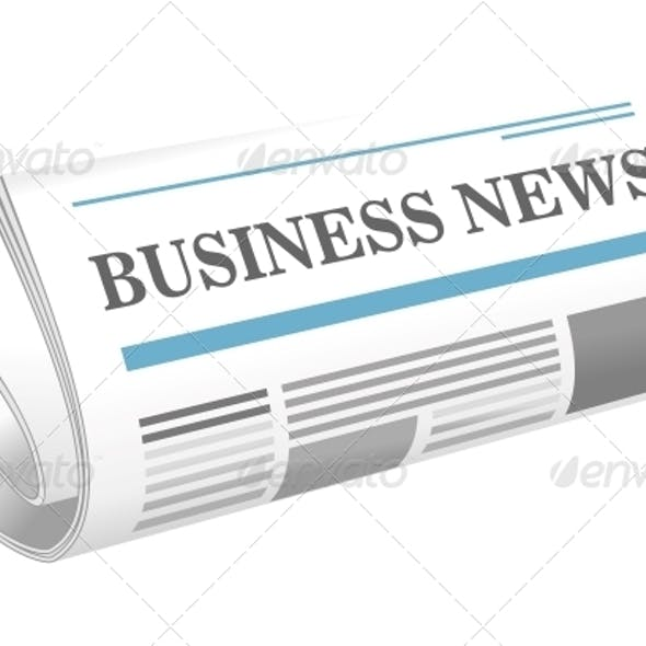 Business News Paper Icon
